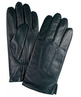 Profuomo Profuomo heren zwarte nappa leren handschoenen