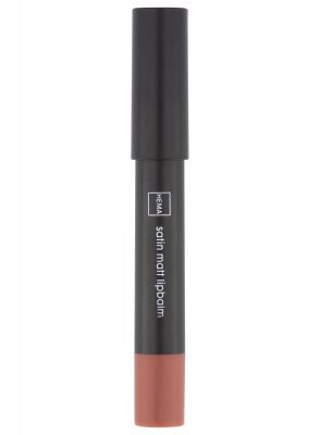 HEMA Satin Matt Lipbalm 15 Dark Nude (lichtrood)