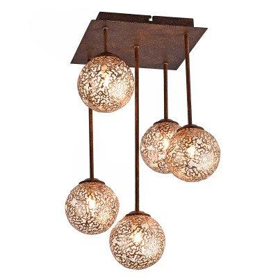 PAUL NEUHAUS Harmonieus gevormde plafondlamp Greta, 5 lichtbr.