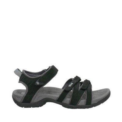 Teva Teva Tirra Leather Sandalen, Grijs voor Dames, Maat 38