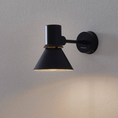 Anglepoise Anglepoise Type 80 W1 wandlamp, matzwart
