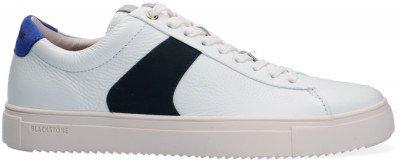 Blackstone Witte Blackstone Lage Sneakers Vg09