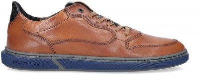 Floris van Bommel Cognac Floris Van Bommel Lage Sneakers 16318