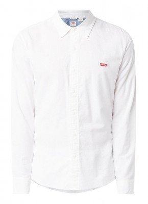 Levi's Levi's Battery slim fit overhemd met logoborduring