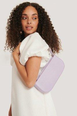 NA-KD Accessories NA-KD Accessories Baguette Tas - Purple