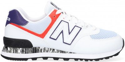 New Balance Witte New Balance Lage Sneakers Wl574