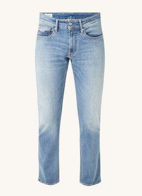 Kings Of Indigo Kings of Indigo Ryan straight fit jeans met lichte wassing