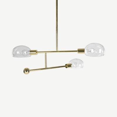 MADE.COM Tangle kroonluchter met 3 lampen