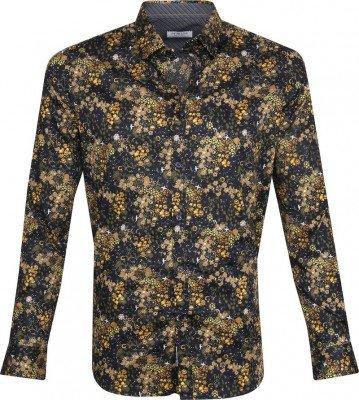 Dstrezzed Dstrezzed Overhemd Bloemen Geel