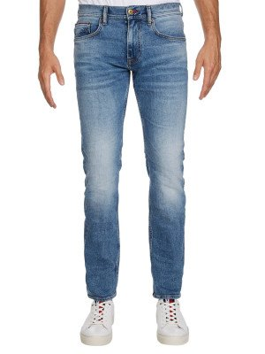 Tommy Hilfiger Tommy Hilfiger Jeans Slim Bleecker STR Baird Blue MW0MW13549