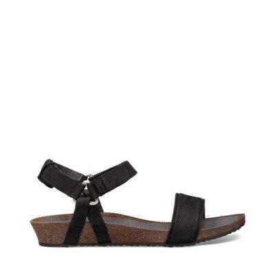 Teva Teva Mahonia Stitch Sandalen, Zwart voor Dames, Maat 36