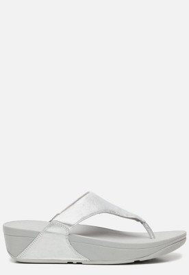 FitFlop FitFlop Lulu Toe Post slippers zilver