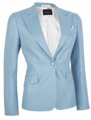 Cavallaro Napoli Cavallaro Napoli Dames Blazer - Cosa Blazer - Blauw
