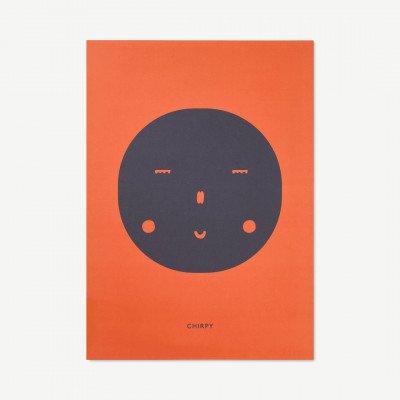 MADE.COM MADO Chirpy Feeling, print door All The Way To Paris, 50 x 70 cm