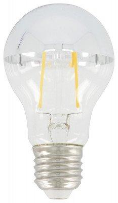 HEMA HEMA LED Lamp 34W - 380 Lm - Peer - Kopspiegel Zilver (transparant)