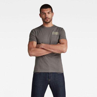G-Star RAW Big Back Graphic T-Shirt - Grijs - Heren