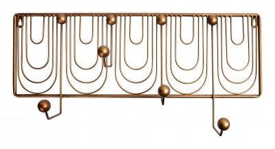 BePureHome BePureHome Kapstok 'Ornamental', kleur Antique Brass