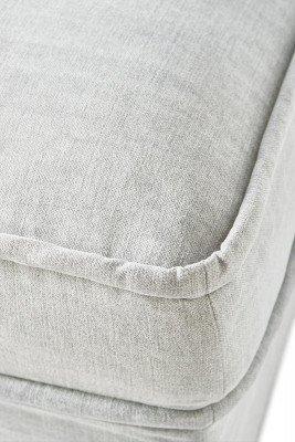 Rivièra Maison Rivièra Maison Hocker 'Metropolis' Cotton, kleur Ash Grey