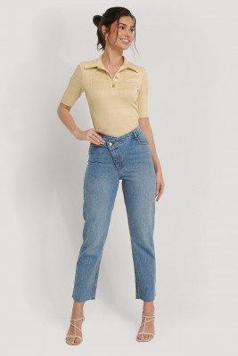 NA-KD Trend NA-KD Trend Jeans - Blue