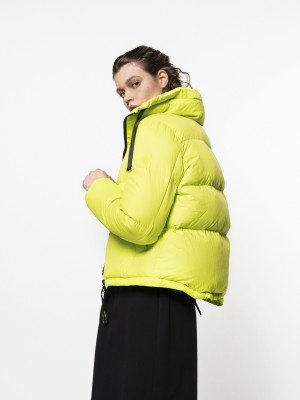 Beaumont Beaumont Bulky puffer - Lime
