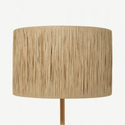 MADE.COM Cruz lampenkap, 40 cm, raffia