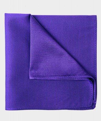 Michaelis Michaelis heren zijden pochet paars