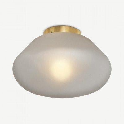 MADE.COM Corben badkamer plafondlamp, matglas