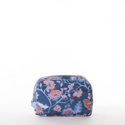 Oilily Oilily Royal Sits Pocket Cosmetic Bag Ensing Blue