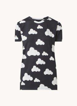 Snurk Snurk Cloud 9 pyjama T-shirt met print