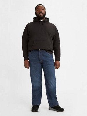 Levi's 501® Levi's® Original Jeans (Big & Tall) - Blauw / Fresh Clean
