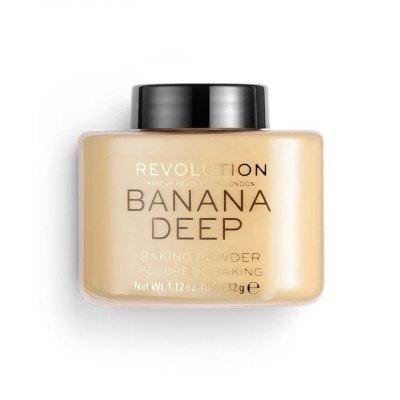 Makeup Revolution Makeup Revolution Loose Baking Powder Banana Deep