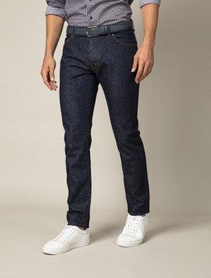 Cavallaro Napoli Cavallaro Napoli Heren Jeans - Fresco Denim Jeans - Donkerblauw