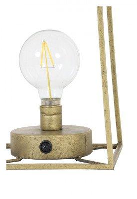 Light en Living Light & Living Tafellamp 'Fauve' LED, kleur Antiek Brons