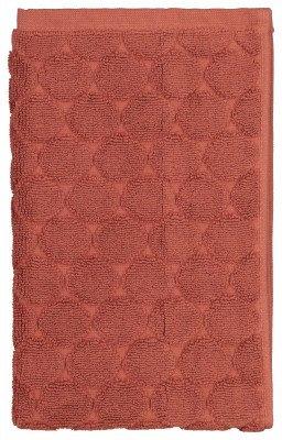 HEMA HEMA Handdoeken - Zware Kwaliteit - Gestipt Terra (terra)