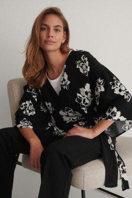 NA-KD Boho NA-KD Boho Kimono Top - Black
