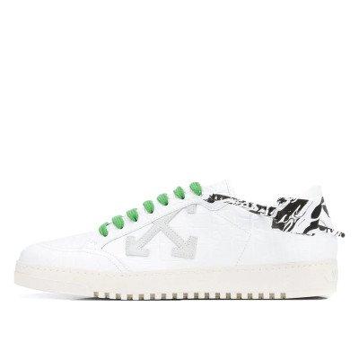 Off-White Off-White Croco 2.0 Low Top White Green