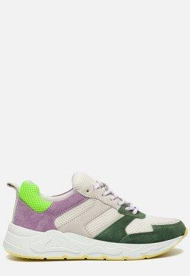 Ann Rocks Ann Rocks Sneakers wit