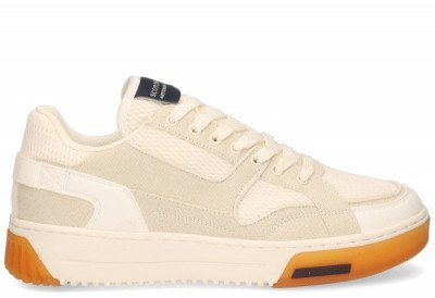 Scotch And Soda Scotch And Soda New Cup Off-White/Beige Herensneakers