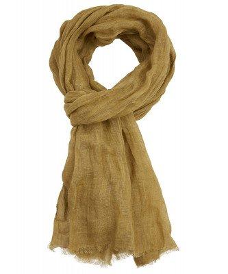Profuomo Profuomo heren scarf woven yellow
