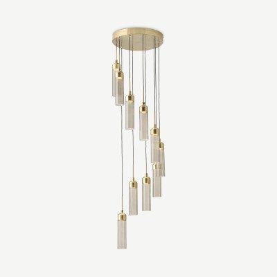 MADE.COM Verona LED kroonluchter met 10 lampen