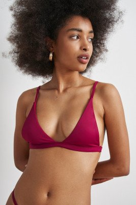 AYA Label 100% recycled The Hebe Top / M / Red