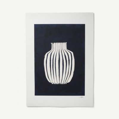 MADE.COM Blue Vase door Ana Frois, print, 50 x 70 cm