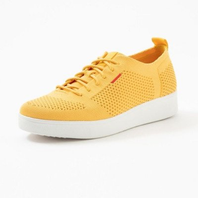 FitFlop FitFlop Rally Tonal Knit sneakers geel