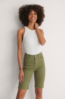 Dr Denim Dr Denim Fietsbroek - Green