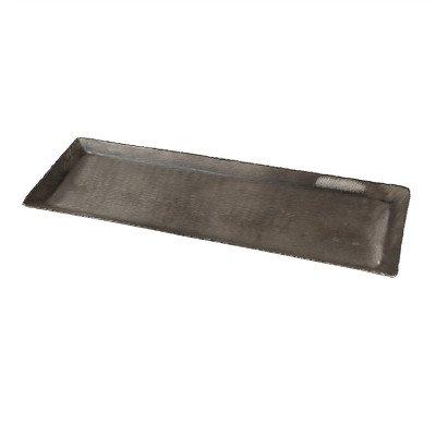 Firawonen.nl PTMD Pearce Silver geborsteld alu sheet schaal rechthoe