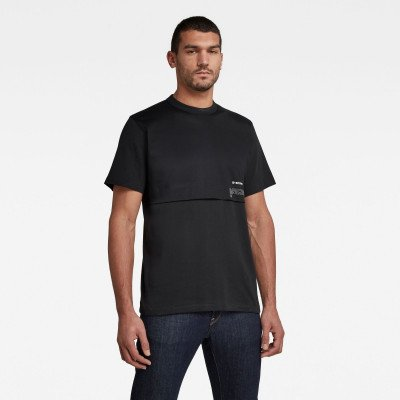 G-Star RAW Mercerized C&S Loose T-Shirt - Zwart - Heren