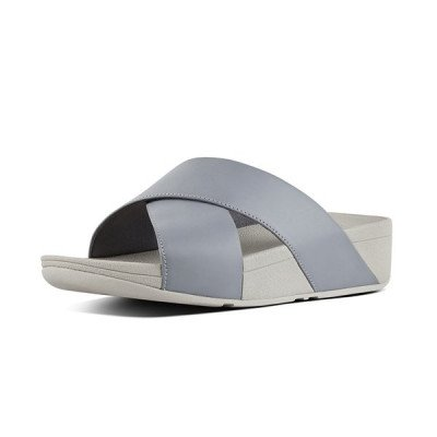 FitFlop FitFlop Lulu Cross Slides slippers blauw
