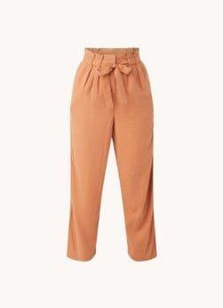 ARMEDANGELS ARMEDANGELS Timeaa high waist loose fit cropped pantalon van lyocell