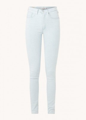 Levi's Levi's Mile High high waist super skinny fit jeans met lichte wassing