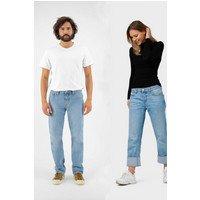 MUD Jeans MUD Jeans unisex vegan Jeans Relax Fred Lichtblauw Lichtblauw W31 L34 Biologisch katoen/Gerecycled katoen